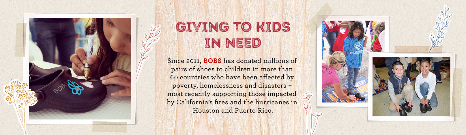 Giving to Kids in Need