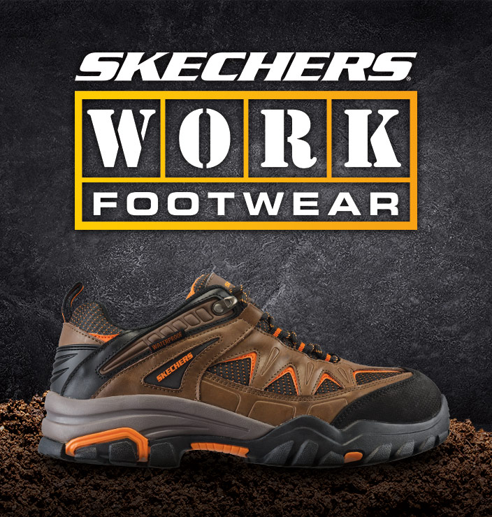Shop the SKECHERS Work collection for men