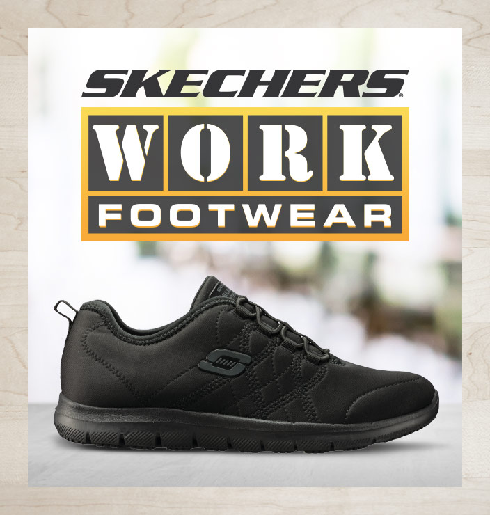 Women's SKECHERS Work Shoes and Boots
