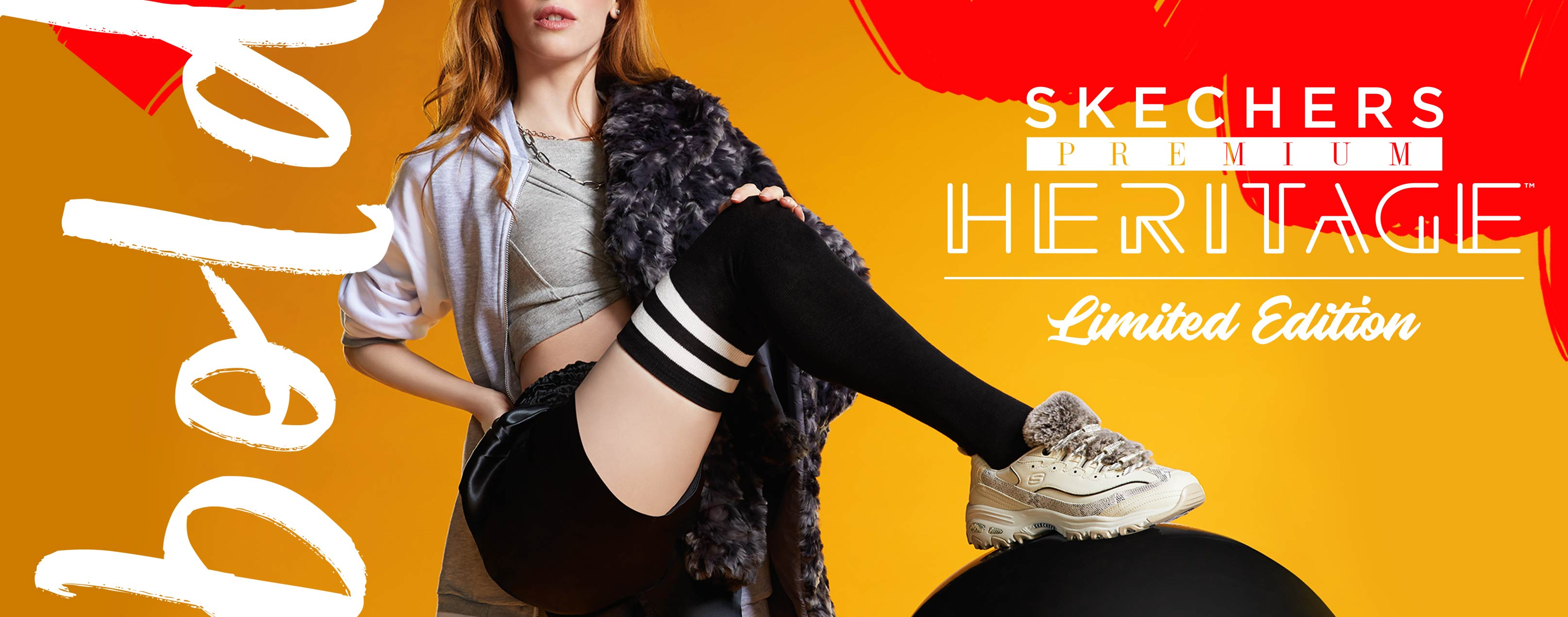 An exclusive limited-edition collection celebrating some of the most iconic styles in Skechers history!