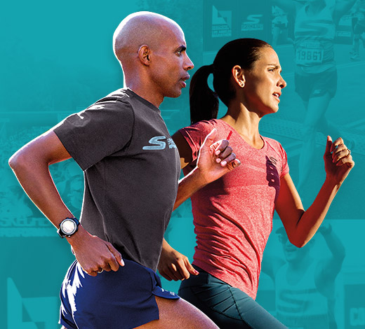 Train hard with Skechers Performance