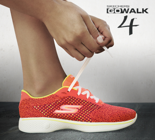 See women's Skechers GOwalk 4 shoes on skechers.com
