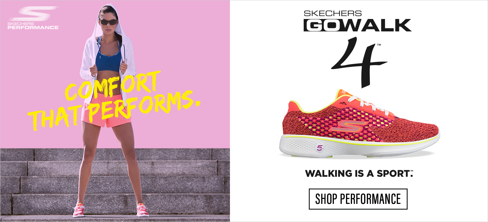 Shop for Performance shoes on skechers.com including GOrun and GOwalk 4