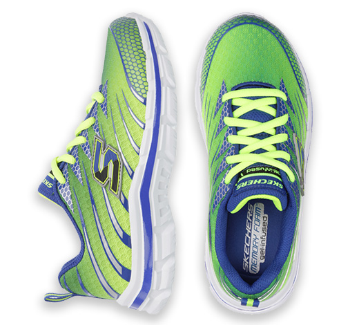 Find Skechers Memory Foam athletic and comfort shoes for boys on skechers.com