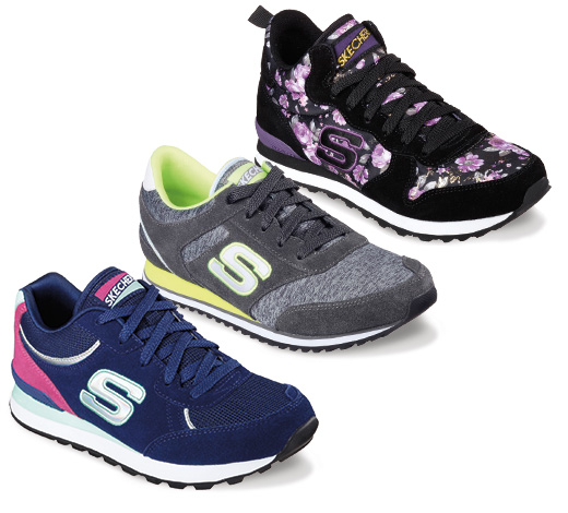 Shop for Skechers Originals sneakers for a fun retro style.