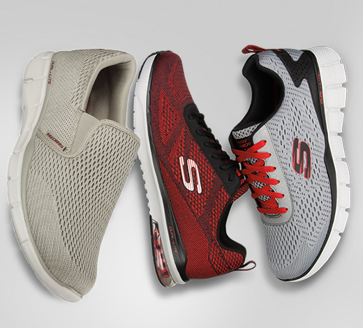 See the latest new arrivals for Men including the Skechers Burst sneaker and sport shoes.