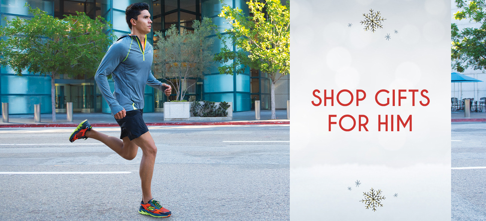 Shop for Skechers Performance Holiday Gifts for men including running shoes, athletic walking shoes, golf shoes and Skechers Performance On the GO shoes