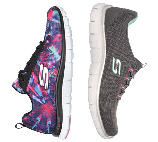 Shop for Women's Skechers Sport shoes including Burst, Flex Appeal, Air Cooled Memory Foam, Skech-Air and more