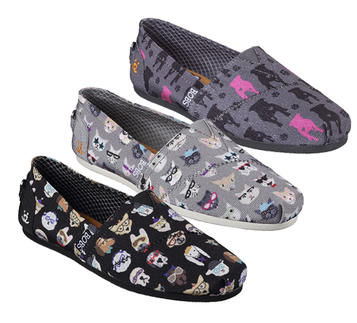 Help save the lives of dogs and cats with Skechers Bobs for Dogs