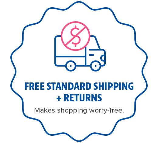 Elite Rewards - Free Standard Shipping and Returns