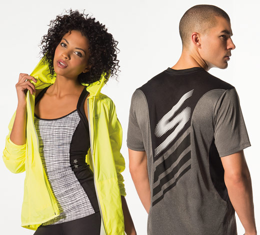 View All Skechers apparel clothing for men and women tops and bottoms