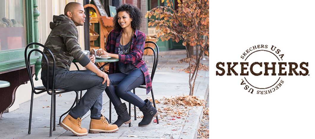 skechers USA boots mens womens fall winter