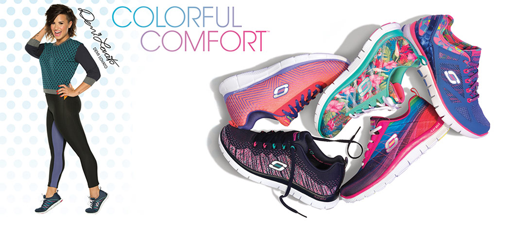 womens what's hot demi lovato sport colorful