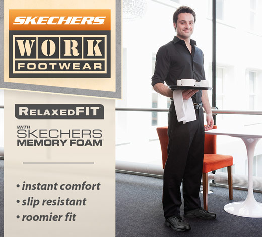 View All men's Skechers Work shoes and boots on skechers.com