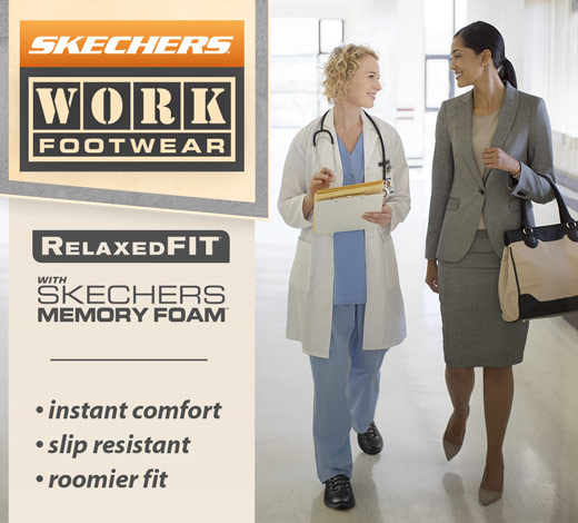 View All women's Skechers Work shoes and boots on skechers.com