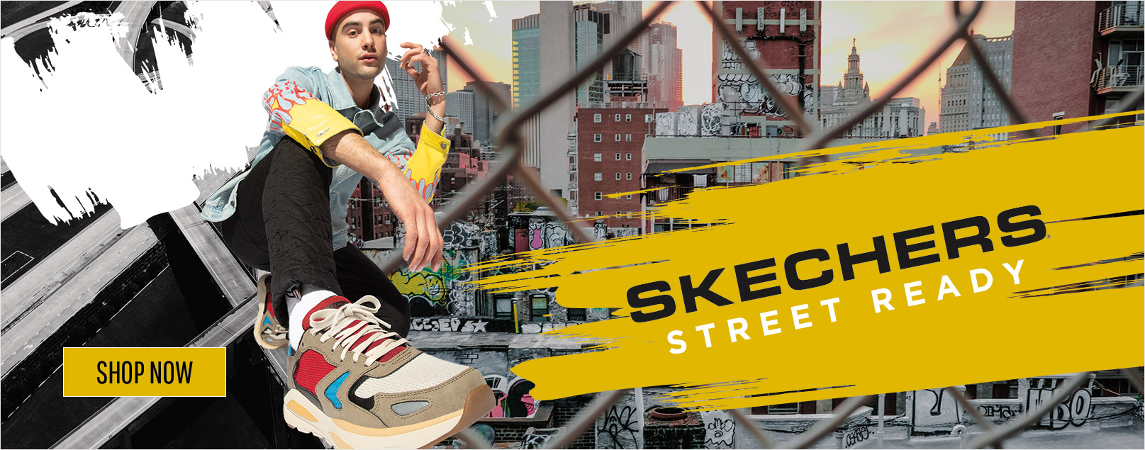 Choose some street ready style with Skechers Sport sneakers.  Classic kicks with color and refreshing style like the DLites, Stamina and Monster.