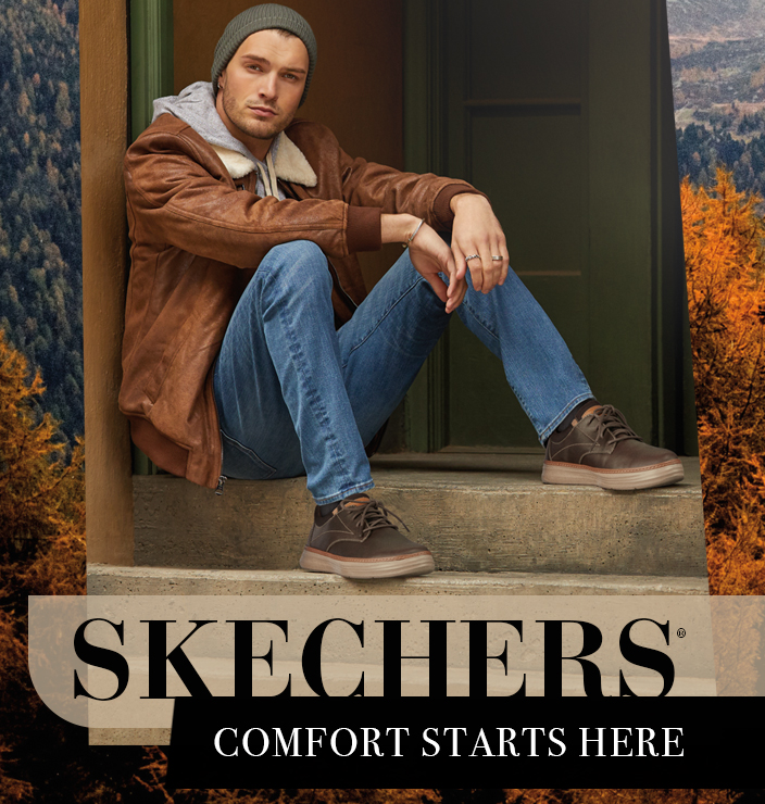 Shop for Skechers Mens Shoes Online – Free Shipping Both Ways