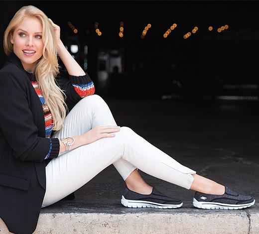womens skechers performance gowalk shoes