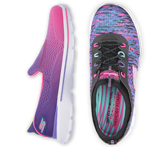 Find girls slip on shoes including GOwalk and gliders