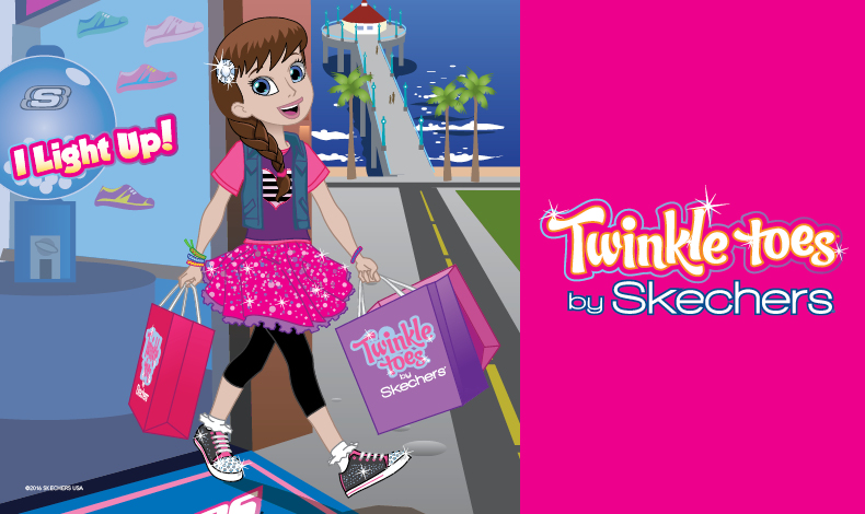 Find the latest Twinkle Toes girls shoes here