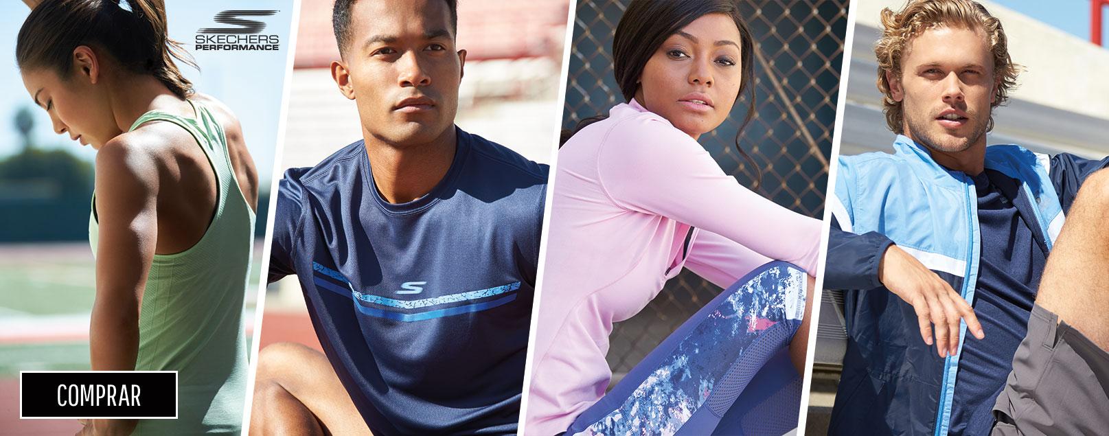 Nueva colección ropa deportiva Skechers Performance