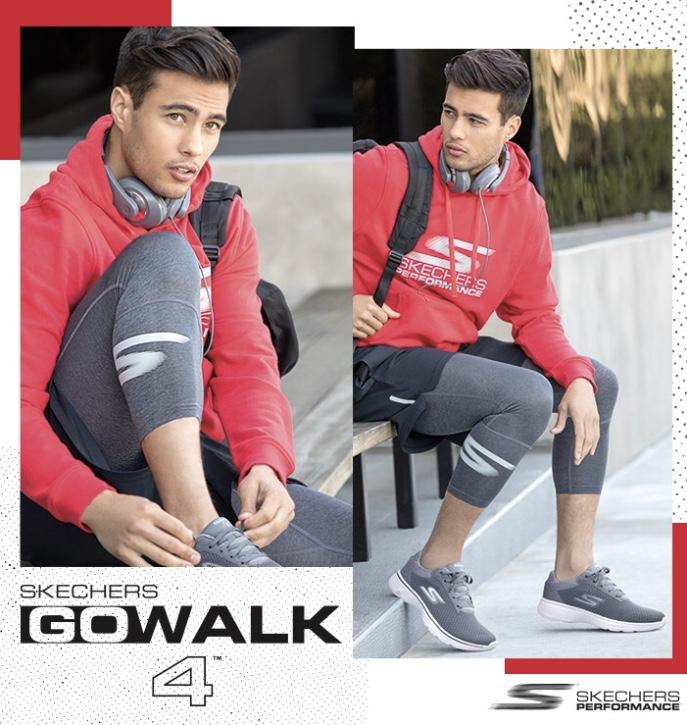 Zapatillas Skechers para caminar hombre