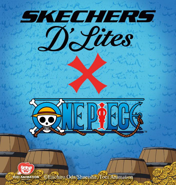 La zapatilla icónica Skechers D'Lites llega ahora renovada con la edición limitada Skechers D´Lites X One Piece. Elige entre los modelos clásicos o nuevos.