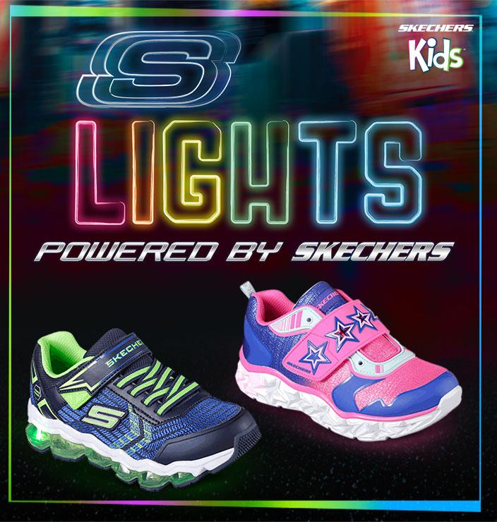 Zapatillas de luces para niño