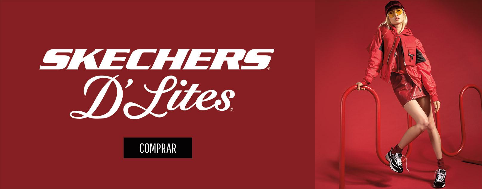 Skechers D´Lites, las chunky shoes de moda. Los 90 han vuelto con Skechers.