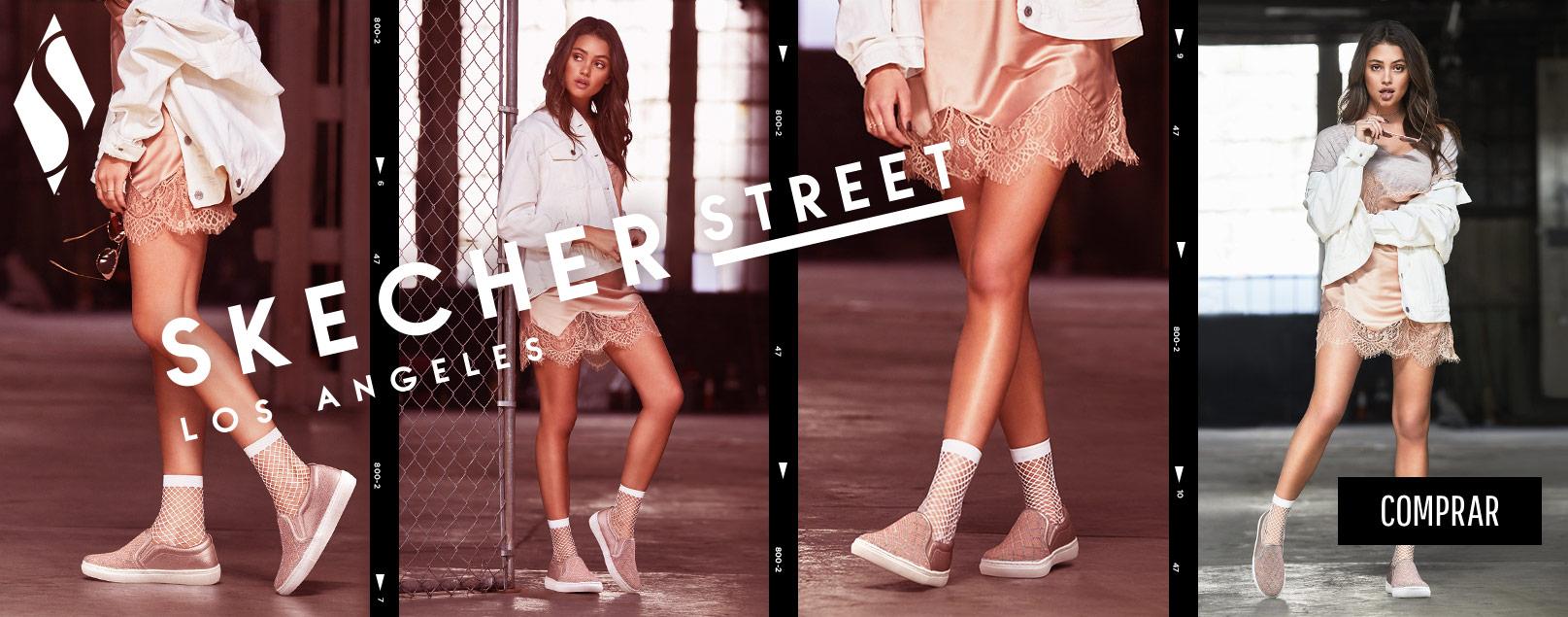 Skechers Street, zapatillas de mujer de moda