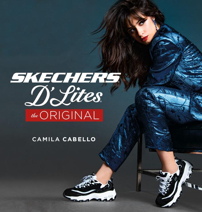 Zapatillas de mujer de moda. Skechers D´Lites
