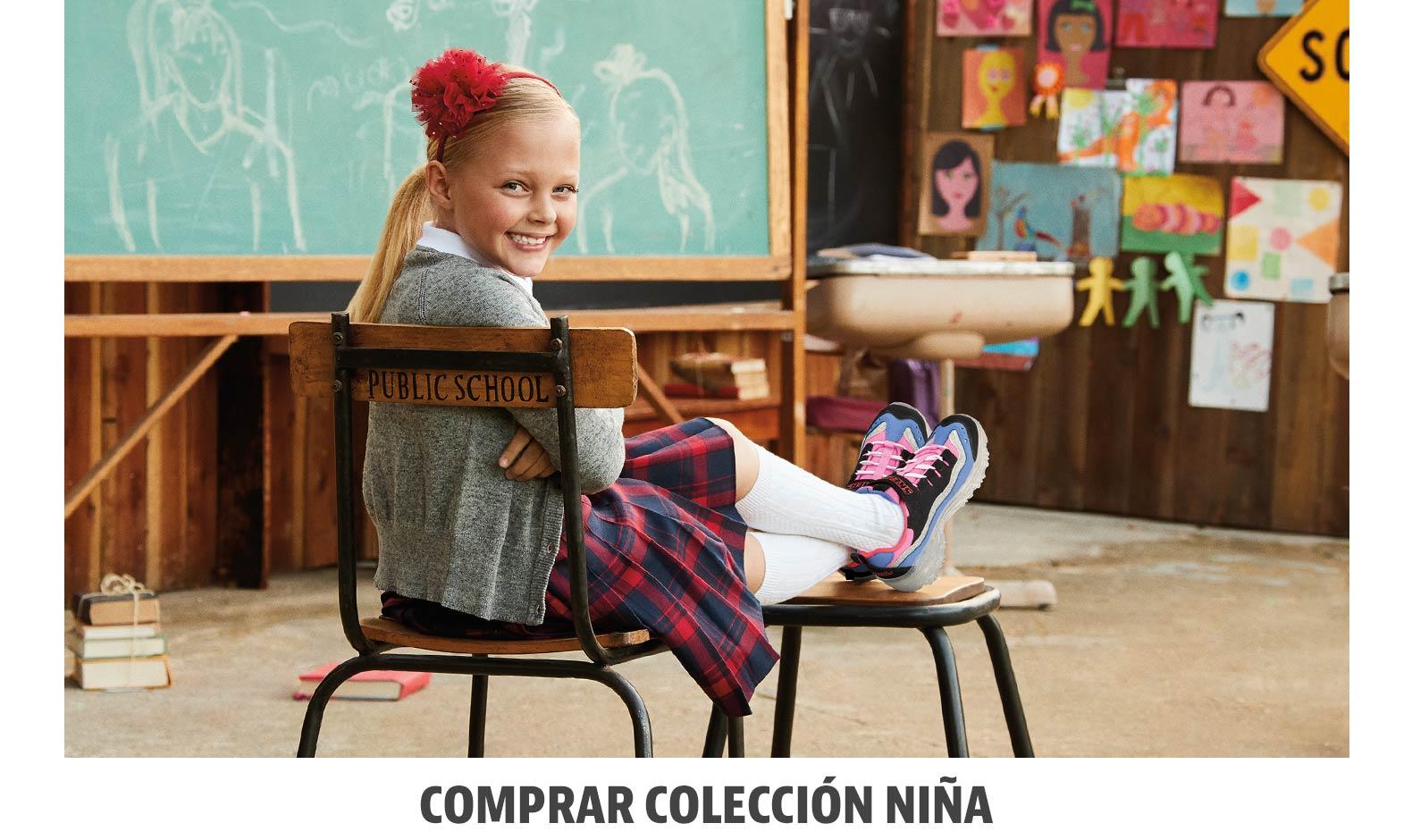 Zapatillas Skechers niña