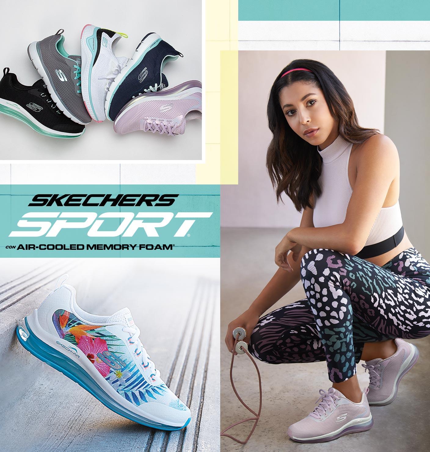 zapatillas skechers mujer verano 2019 xl zaragoza