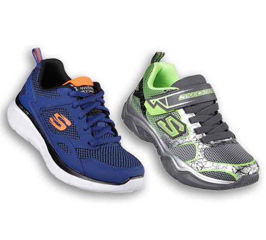 view all boys' athletic sneakers and trainers on skechers.com