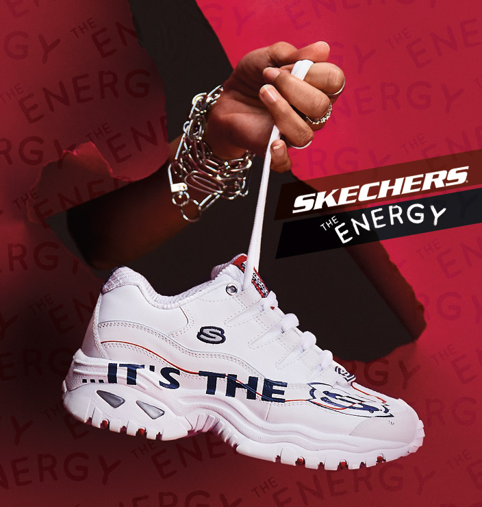 Skechers D'Lites 3.0 Proven Force (Wit) Sneakers chez