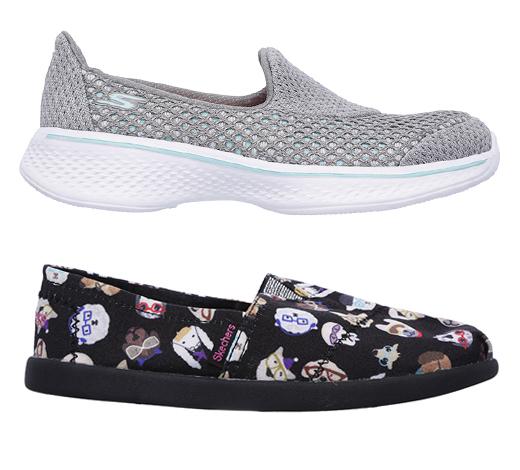 Trouver les chaussures pour filles de type slip-on et athlétique sur Skechers.com Canada