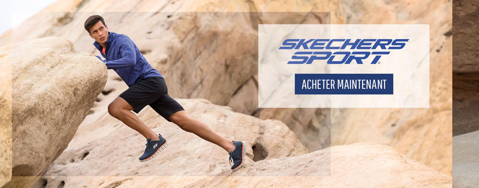 Style et confort avec Skechers