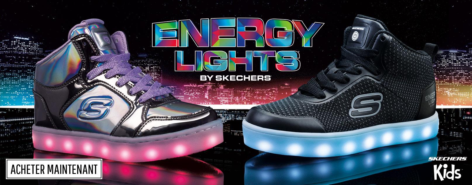 8d1d2422682 ... b font led font. Chaussures Skechers Kids pour garçons et filles  incluant des chaussures de type athlétiques