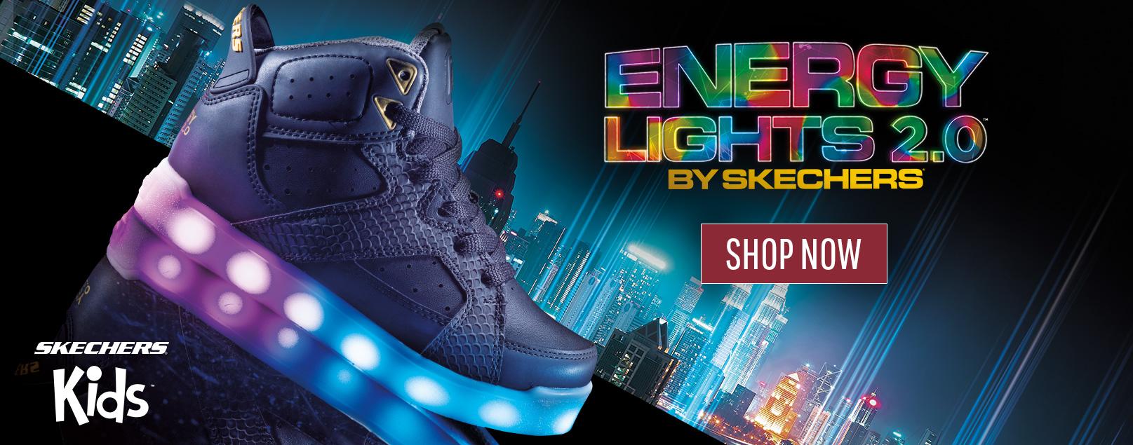 Chaussures Skechers pour garçons incluant les chaussures athétiques avec Mousse Mémoire et les modèles S Lights, Mega Blade, Skech-Air et Z-strap.
