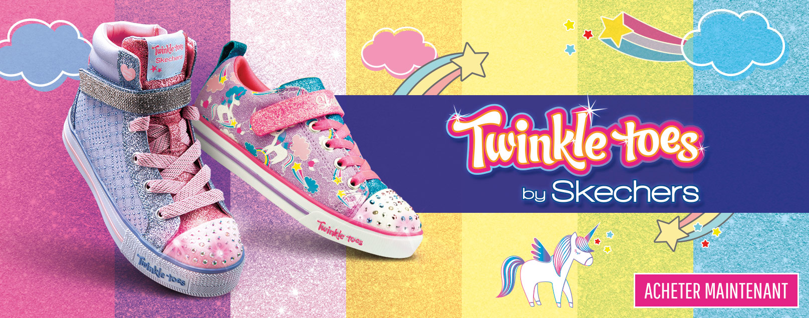 75fe9e1f9ec Chaussures Skechers Kids pour garçons et filles incluant des chaussures de  type athlétiques